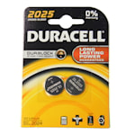 118902 Duracell 2-pack batteri litium CR2025 3V