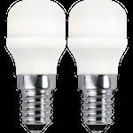 824774 Päronlampa Promo LED 2-pack 1,5W 140lm 3000K E14