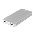 822418 Deltaco Prime Power bank, 8000mAh, silver