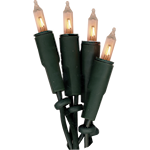 824682 Basic Line inomhus ljusslinga 20 ljus klar glödljus grön