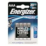 114704 4-pack Lithium batterier AAA Ultimate 1,5V