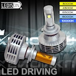 281001 LEDISON 2-pack H7 LED 20W 1988lm 3000-10000K