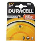 118915 Duracell batteri silveroxid SR66 alt 377 1,55V