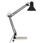 821476 Skrivbordslampa hobby svart 1x40W E27