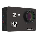 823959 W8 Sports Cam med Wi-Fi, 1080p 30FPS