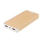 822420 Deltaco Prime Power bank, 8000mAh, guld