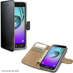 822096 Celly Wallet Case Galaxy A5 2017 Svart/Beige