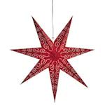 824019 Pappersstjärna Antique röd 60cm