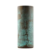 Vas Effect Ø 8x21 cm - Grön