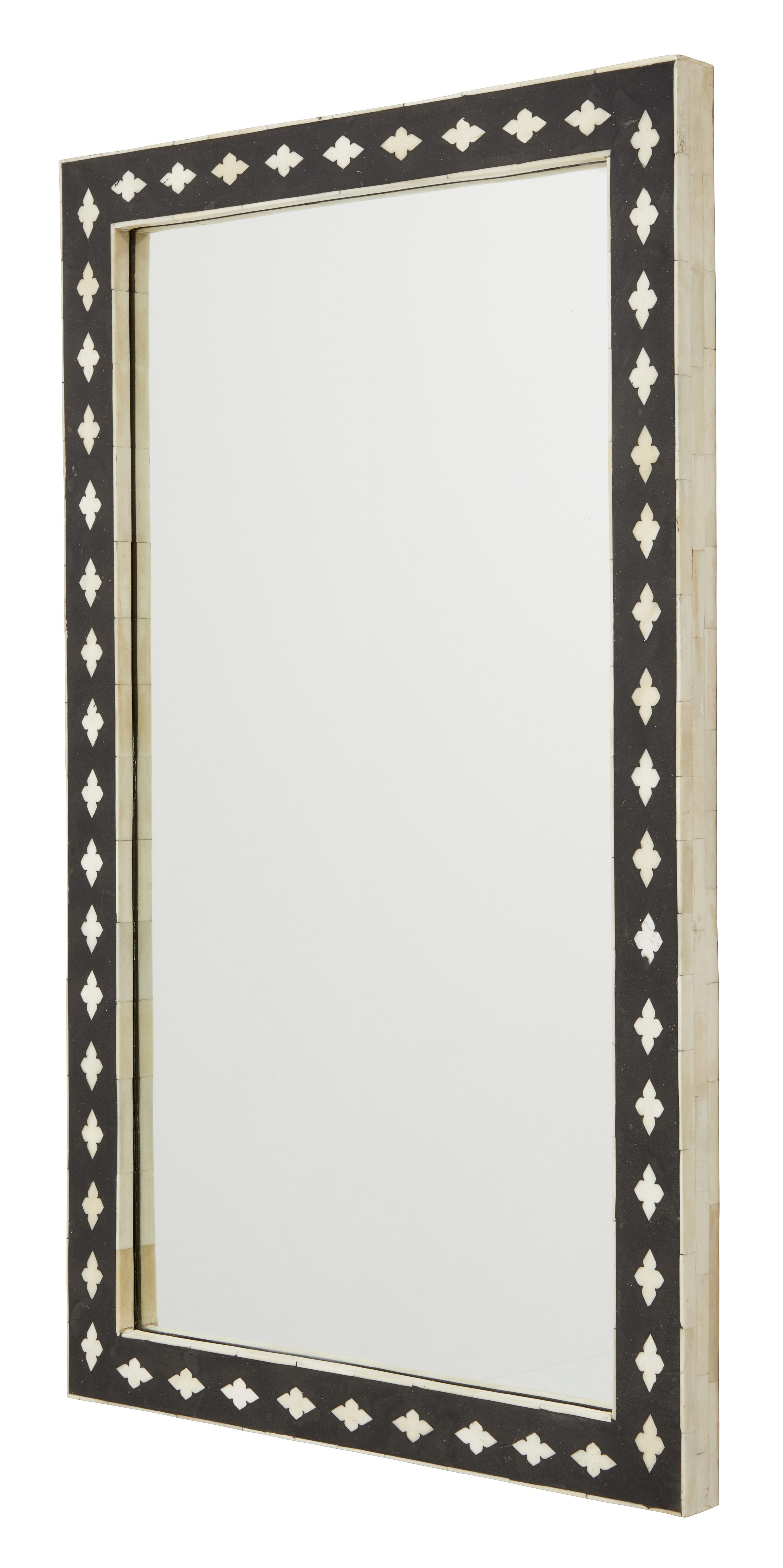 Bone mirror- rektangulär