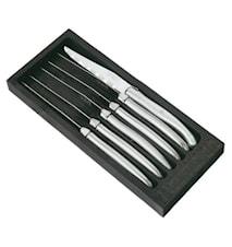 Grillkniv 6st rostfritt stål
