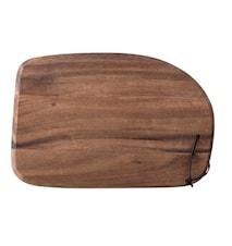 Skærebræt Akacie 35,5x23,5 cm - Brun