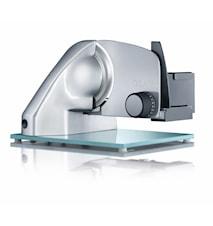 Vivo Twin, Påleggsmaskin med Glassbunn, Taggete + Glatt Knivblad