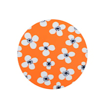 Belle Amie Grytunderlägg Orange Ø 21 cm