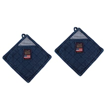 2-pack denim potholder