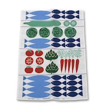 Torgkasse Kjøkkenhåndduk