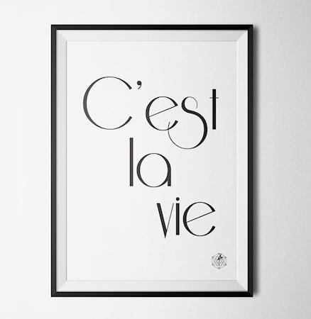 Bild av Konstgaraget Cest poster
