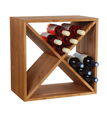 Wine Cube Viinipulloteline, 24 pullolle