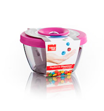PopSome Candy & Nut Dispenser med lock rosa