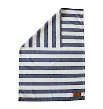 Kjøkkenhåndkle stripete, blå