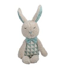 Bamse Kanin Brun/Rosa Polyester 27cm