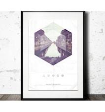 milan geometry poster