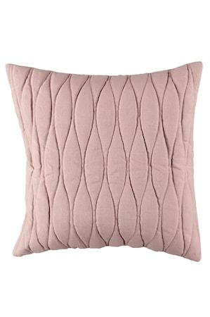 Kuddfodral Quiltat 50x50 cm - Rosa