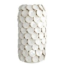 Dot Vase 30 cm - Hvit