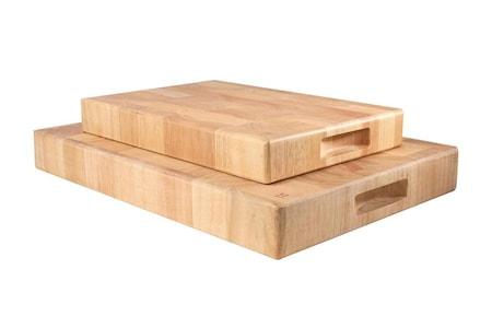 T&G Woodware Rektangulär skärbräda av ändträ