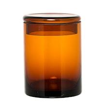 Boks med lokk Brun Glass 9x16cm
