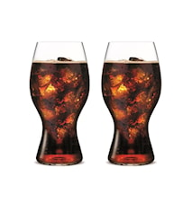 Coca Cola Glass, 2-pakk