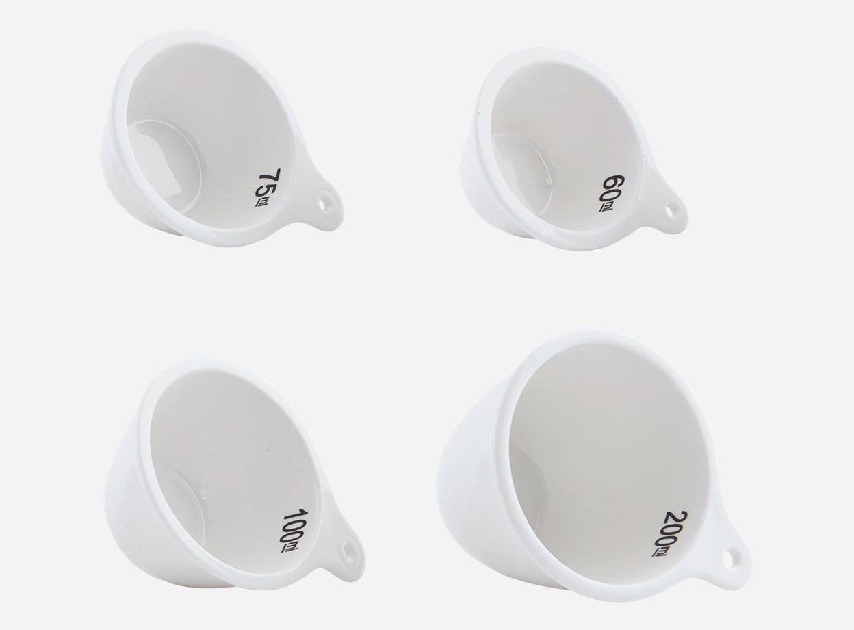 Måttset 4 delar 200/100/75/60 ml