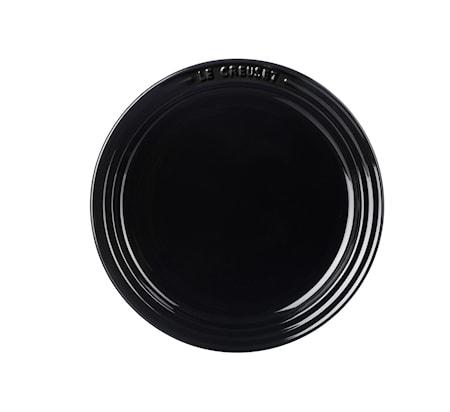 Assiett 18 cm Black