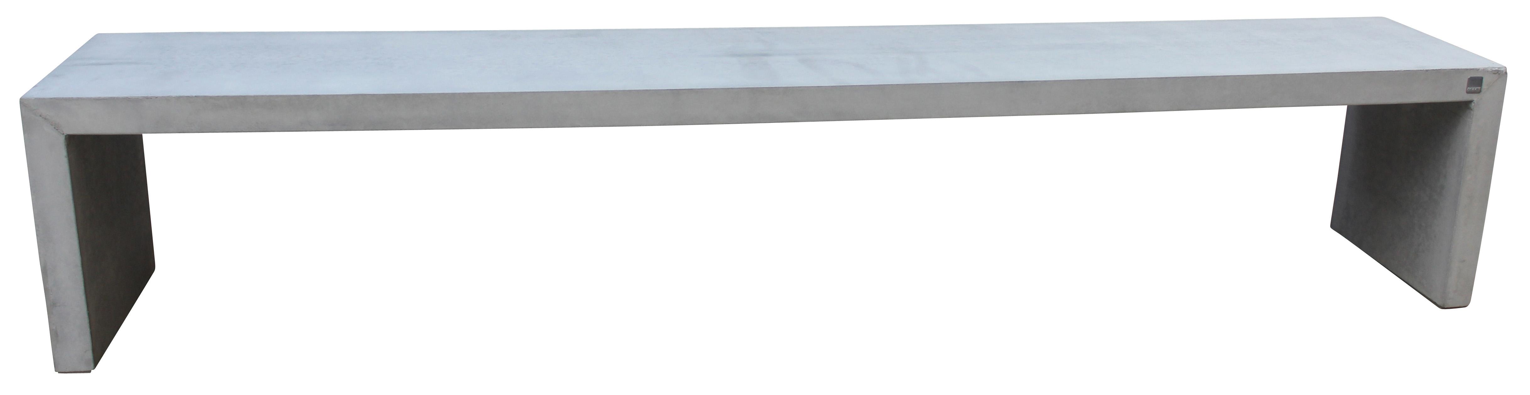 Brooklyn Bänk - betong/grå