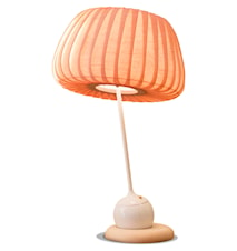 TR19 bordslampa - Björk/vit