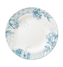 Floreana Blue Sallad Tallrik 21,5cm