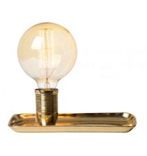 Tracy bordslampa. Mässing