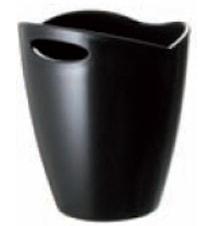 Secchiello black- Ishink av akrylplast