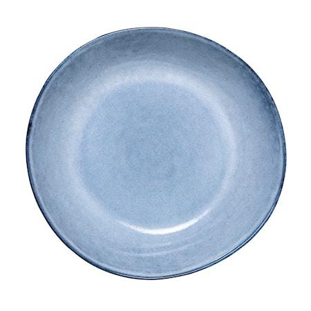 Bloomingville Sandrine Kulho Sininen Kivitavaraa 22×5 cm