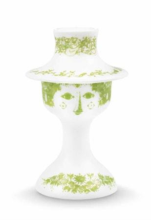 Bild av Björn Wiinblad Ljusstake, Felicia, grön, H 13,5 cm