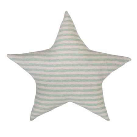 Bild av Bloomingville Kudde Stjärna Grön Bomull 43x43cm