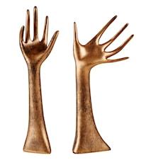 Figur Hand Brons 33 cm