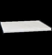 Bricka/Underlägg Vit marmor 25x25 cm