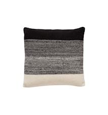 Prydnadskudde Bomull 60x60 cm - Svart/natur/grå