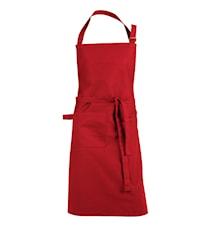 Krögarförkläde Röd