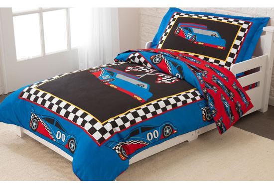 Racecar barn sängkläder