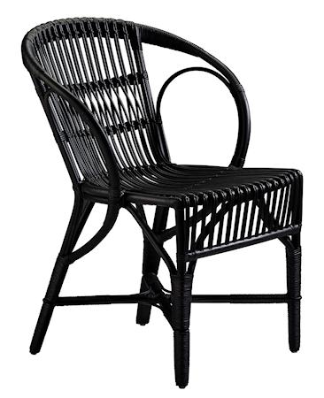 Sika Design Wengler stol - Polished matt black