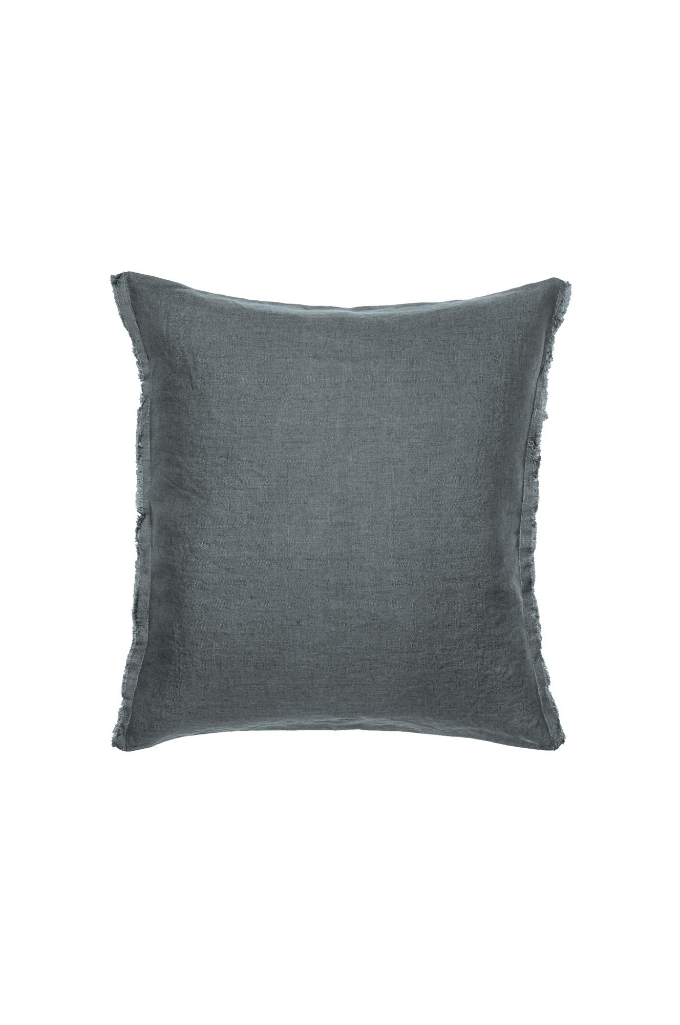 Kudde Sunshine Fringe 50x50 cm, Silence (Mörkblå)