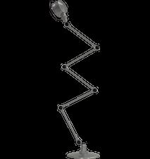 Lak L9405 Gulvlampe 5x40 cm - Mat