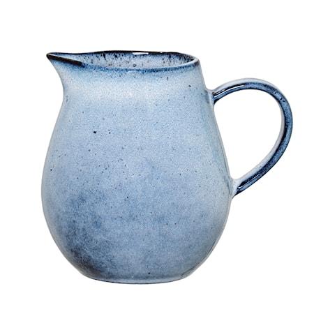 Bloomingville Sandrine Maitokannu Sininen Kivitavaraa 9×10 cm